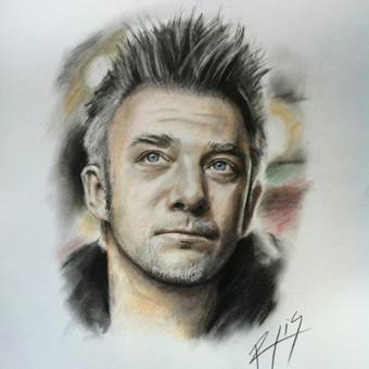 Portretai Paveikslai Šaržai Tatuiruotės / Rytis Songaila / Darbų pavyzdys ID 72291