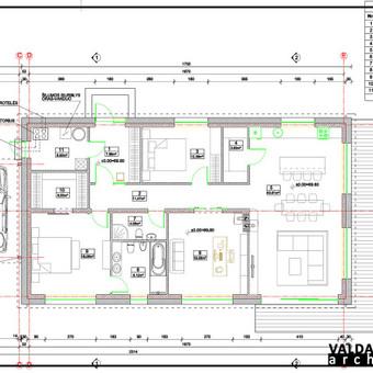 Atestuotas Architektas Vilniuje/Kaune-Gyvenamų n. projektai / Valdas Barvainis / Darbų pavyzdys ID 502735