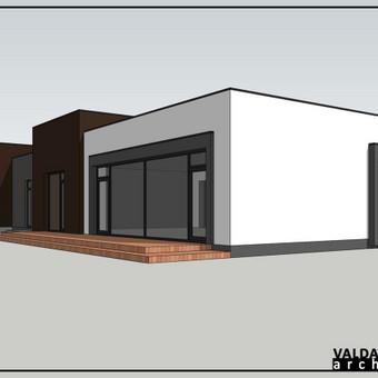 Atestuotas Architektas Vilniuje/Kaune-Gyvenamų n. projektai / Valdas Barvainis / Darbų pavyzdys ID 502741