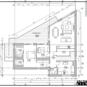 Atestuotas Architektas Vilniuje/Kaune-Gyvenamų n. projektai / Valdas Barvainis / Darbų pavyzdys ID 502757