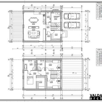 Atestuotas Architektas Vilniuje/Kaune-Gyvenamų n. projektai / Valdas Barvainis / Darbų pavyzdys ID 502759