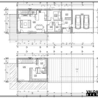 Atestuotas Architektas Vilniuje/Kaune-Gyvenamų n. projektai / Valdas Barvainis / Darbų pavyzdys ID 502769