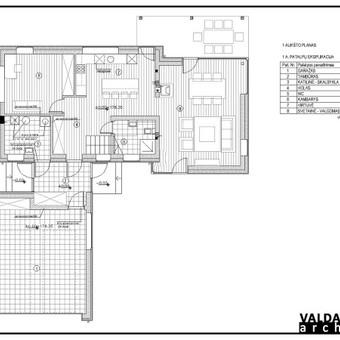 Atestuotas Architektas Vilniuje/Kaune-Gyvenamų n. projektai / Valdas Barvainis / Darbų pavyzdys ID 502797