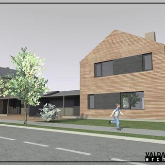 Atestuotas Architektas Vilniuje/Kaune-Gyvenamų n. projektai / Valdas Barvainis / Darbų pavyzdys ID 502799