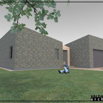 Atestuotas Architektas Vilniuje/Kaune-Gyvenamų n. projektai / Valdas Barvainis / Darbų pavyzdys ID 502809
