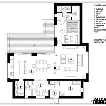Atestuotas Architektas Vilniuje/Kaune-Gyvenamų n. projektai / Valdas Barvainis / Darbų pavyzdys ID 502817