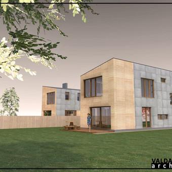 Atestuotas Architektas Vilniuje/Kaune-Gyvenamų n. projektai / Valdas Barvainis / Darbų pavyzdys ID 502831