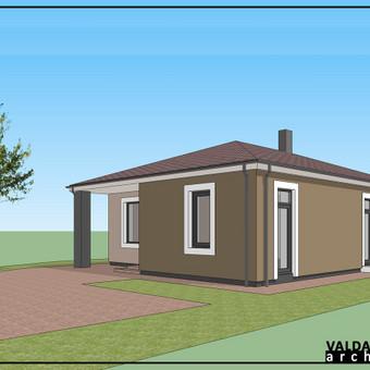 Atestuotas Architektas Vilniuje/Kaune-Gyvenamų n. projektai / Valdas Barvainis / Darbų pavyzdys ID 502851