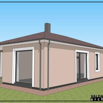 Atestuotas Architektas Vilniuje/Kaune-Gyvenamų n. projektai / Valdas Barvainis / Darbų pavyzdys ID 502855
