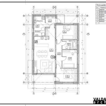 Atestuotas Architektas Vilniuje/Kaune-Gyvenamų n. projektai / Valdas Barvainis / Darbų pavyzdys ID 502857