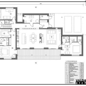 Atestuotas Architektas Vilniuje/Kaune-Gyvenamų n. projektai / Valdas Barvainis / Darbų pavyzdys ID 502893