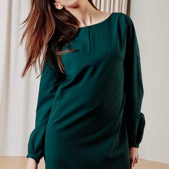 Suknelės siuvimas. Modelis parenkamas pagal  užsakovo pageidavimą.