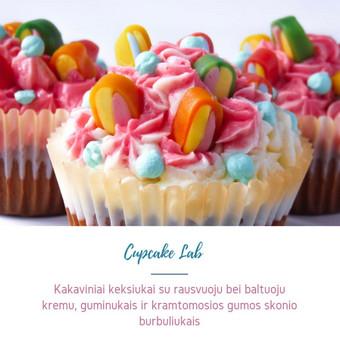 Cupcake Lab - laimės keksiukai / Eglė Jankauskaitė / Darbų pavyzdys ID 505163