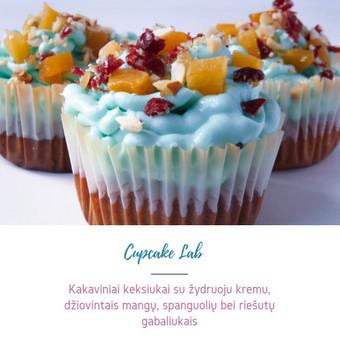 Cupcake Lab - laimės keksiukai / Eglė Jankauskaitė / Darbų pavyzdys ID 505165