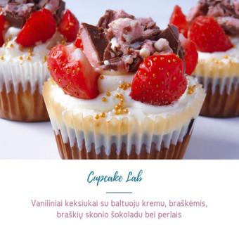 Cupcake Lab - laimės keksiukai / Eglė Jankauskaitė / Darbų pavyzdys ID 505167