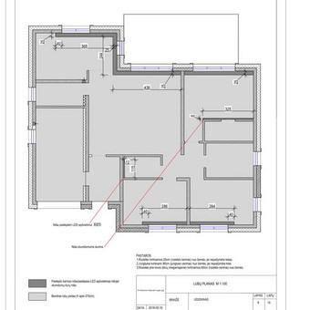 Udizainas - interjero dizainas / Ugnė Majauskaitė / Darbų pavyzdys ID 506383
