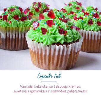 Cupcake Lab - laimės keksiukai / Eglė Jankauskaitė / Darbų pavyzdys ID 507767