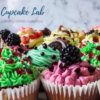 Cupcake Lab - laimės keksiukai / Eglė Jankauskaitė / Darbų pavyzdys ID 507771