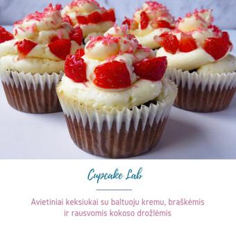 Cupcake Lab - laimės keksiukai / Eglė Jankauskaitė / Darbų pavyzdys ID 507773