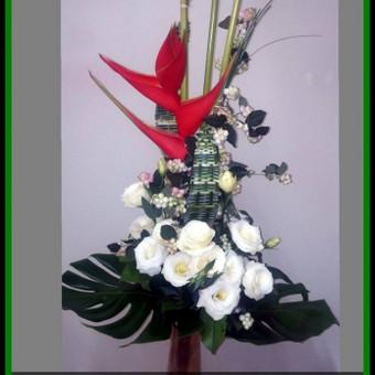 Floristas, gėlių salonas / Olga / Darbų pavyzdys ID 72831