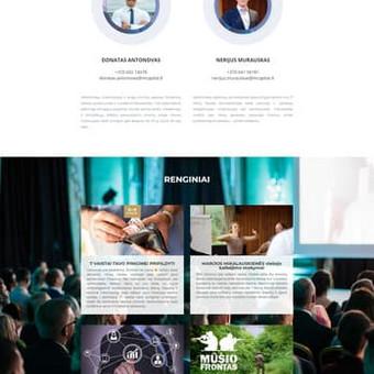 Mokymus organizuojančių Donato Antonovo ir Nerijaus Murausko internetinis puslapis. www.100desimt.lt
