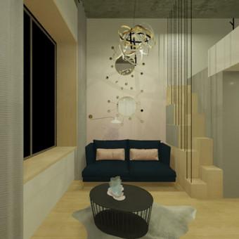 Interjero dizaineris / Amrita Studio / Darbų pavyzdys ID 509635