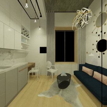 Interjero dizaineris / Amrita Studio / Darbų pavyzdys ID 509637