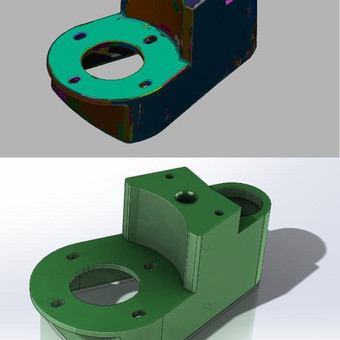 CAD Mechanikos inžinierius konstruktorius / Justas / Darbų pavyzdys ID 511573