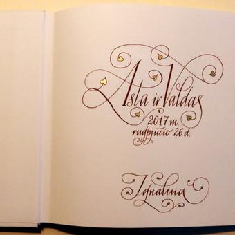 Kaligrafijos meistras / Rolandas Bilinskas / Darbų pavyzdys ID 513545