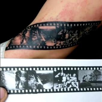 Įšskirtinio dizaino bei kokybės fotorealistinės tatuiruotės / Focus Mind / Darbų pavyzdys ID 513941