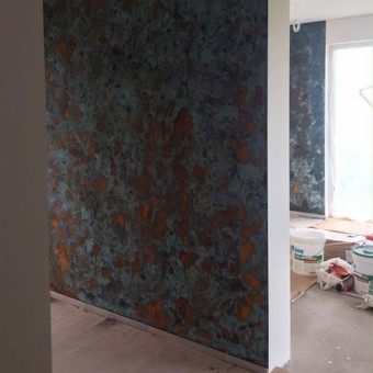 Meninis sienų dažymas / Meninis sienų dekoravimas / Darbų pavyzdys ID 515207