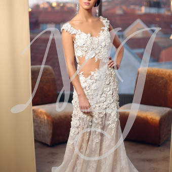 Individualus vestuvinių suknelių siuvimas / MJ Bridal Couture / Darbų pavyzdys ID 73613