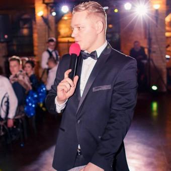 Profesionalus renginių vedėjas Vilniuje / Aleksandr Suslonov / Darbų pavyzdys ID 517935