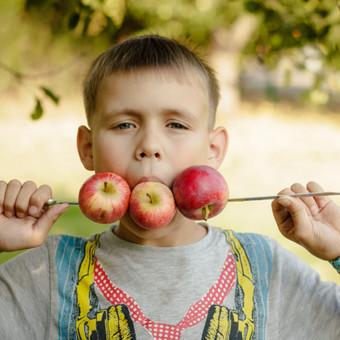 Šarūno obuolių pasaka (šeimos fotosesija)