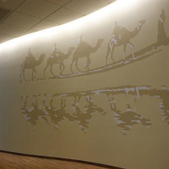Tapyba ant sienų, aerografija, graffiti / Edgaras Guršnys / Darbų pavyzdys ID 520317