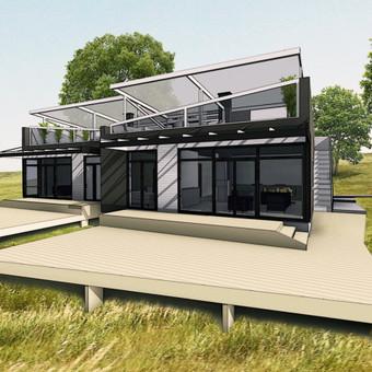 Architektas, projektavimas / Namai LT / Darbų pavyzdys ID 74028