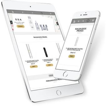 Interneto svetainių ir el. parduotuvių kūrimas / ADISOFT / Darbų pavyzdys ID 522845