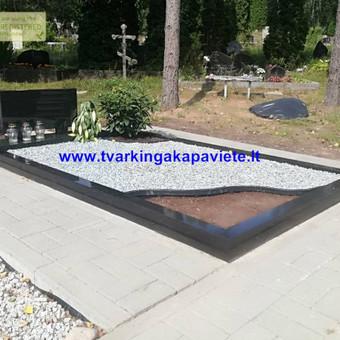 Paminklai, antkapiai, granito plokštės, kapų tvarkymas / TVARKINGA KAPAVIETĖ / Darbų pavyzdys ID 524727