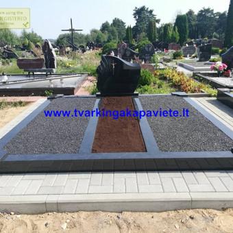 Paminklai, antkapiai, granito plokštės, kapų tvarkymas / TVARKINGA KAPAVIETĖ / Darbų pavyzdys ID 524729