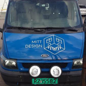 Reklama ant automobilio, lipdukų gamyba, lauko/vidaus reklam / Trigalvis.lt / Darbų pavyzdys ID 527137
