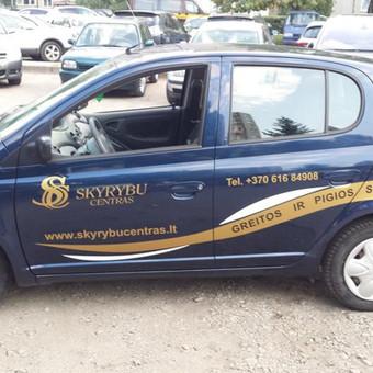 Reklama ant automobilio, lipdukų gamyba, lauko/vidaus reklam / Trigalvis.lt / Darbų pavyzdys ID 527143