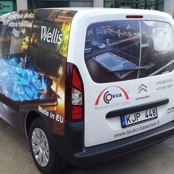 Reklama ant automobilio, lipdukų gamyba, lauko/vidaus reklam / Trigalvis.lt / Darbų pavyzdys ID 527149