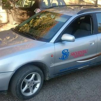 Reklama ant automobilio, lipdukų gamyba, lauko/vidaus reklam / Trigalvis.lt / Darbų pavyzdys ID 527167