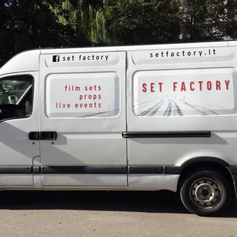 Reklama ant automobilio, lipdukų gamyba, lauko/vidaus reklam / Trigalvis.lt / Darbų pavyzdys ID 527171