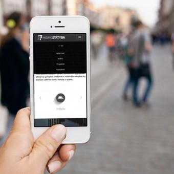 Internetinės svetainės HIDROSTATYBA pritaikymas mobiliems irenginiams