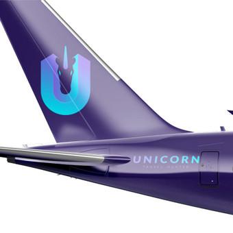 UNICORN - Travel Hunter | Logotipų kūrimas - www.glogo.eu - logo creation.