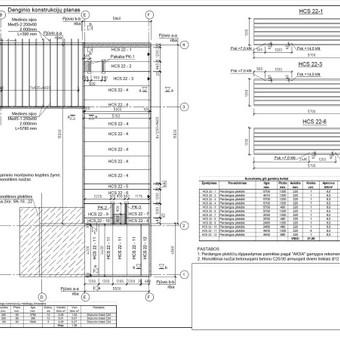 Konstrukcijų projektavimas (+KVAD atestatas) / Tomas Jakucevičius / Darbų pavyzdys ID 527451