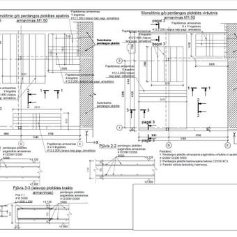 Konstrukcijų projektavimas (+KVAD atestatas) / Tomas Jakucevičius / Darbų pavyzdys ID 527461