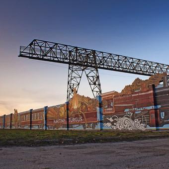Tapyba ant sienų, aerografija, graffiti / Edgaras Guršnys / Darbų pavyzdys ID 527821