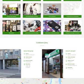 Fotosalono internetinė svetainė: www.fotokopija.lt